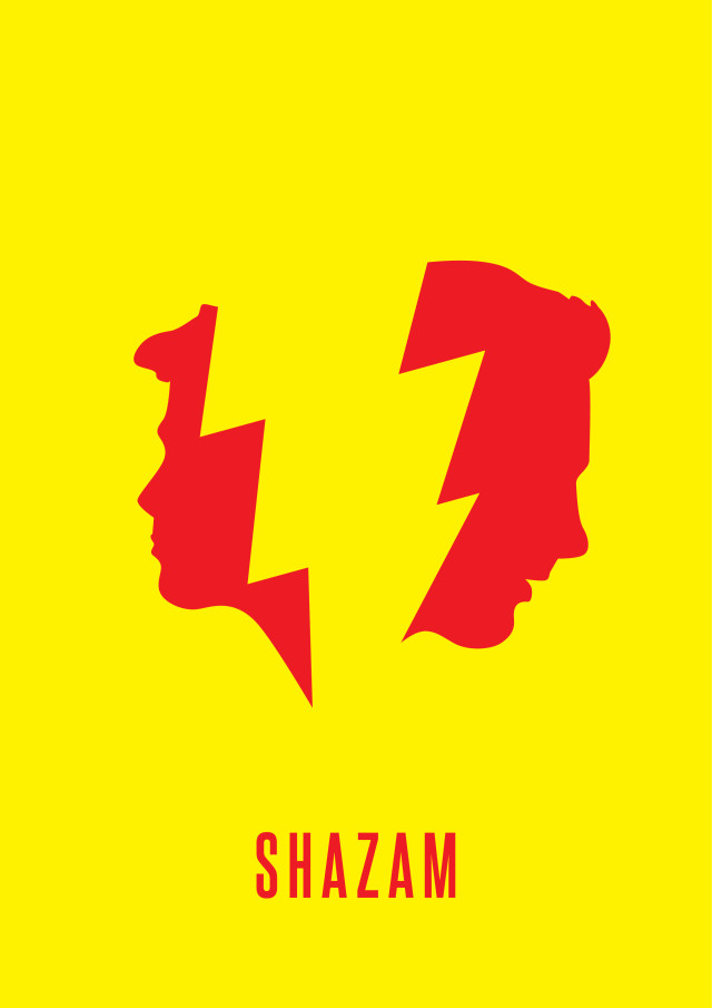 Create static artwork for SHAZAM!