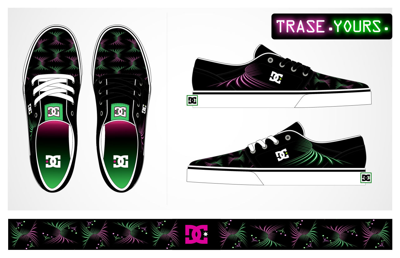 Trase Shoe for DC Shoes by Cynthia Squire-Holder c06c20e555294
