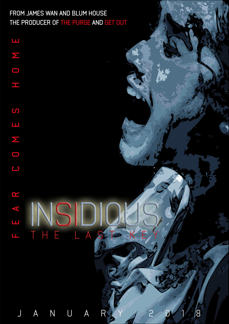 Insidious The Last Key Poster By Dian Alt 4