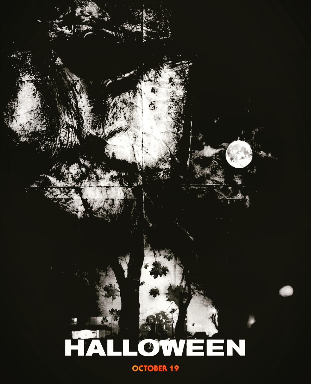 Halloween 2018 Fan Poster.Halloween 2018 Fan Art Poster By Grant Steele