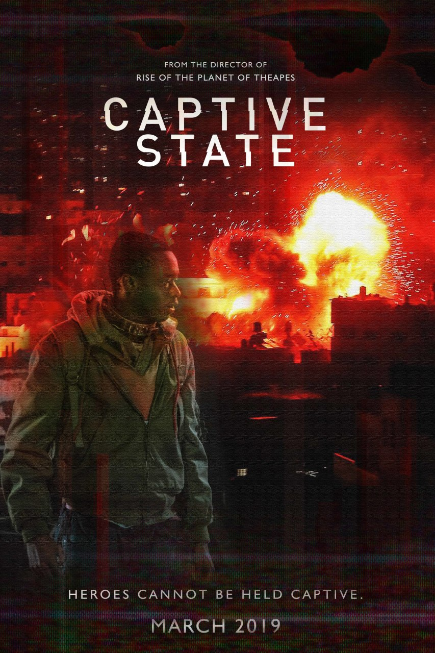 Captive State Movie Book