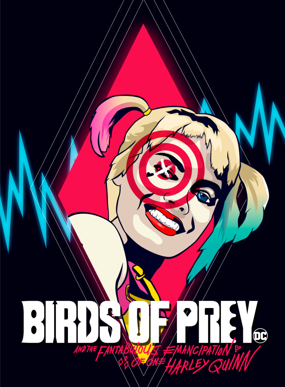 Birds Of Prey Fan Art Poster