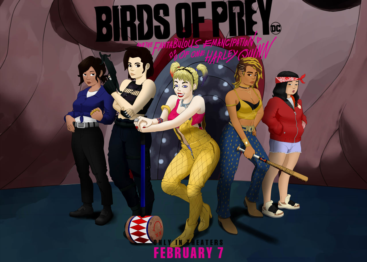 Birds Of Prey Fanart