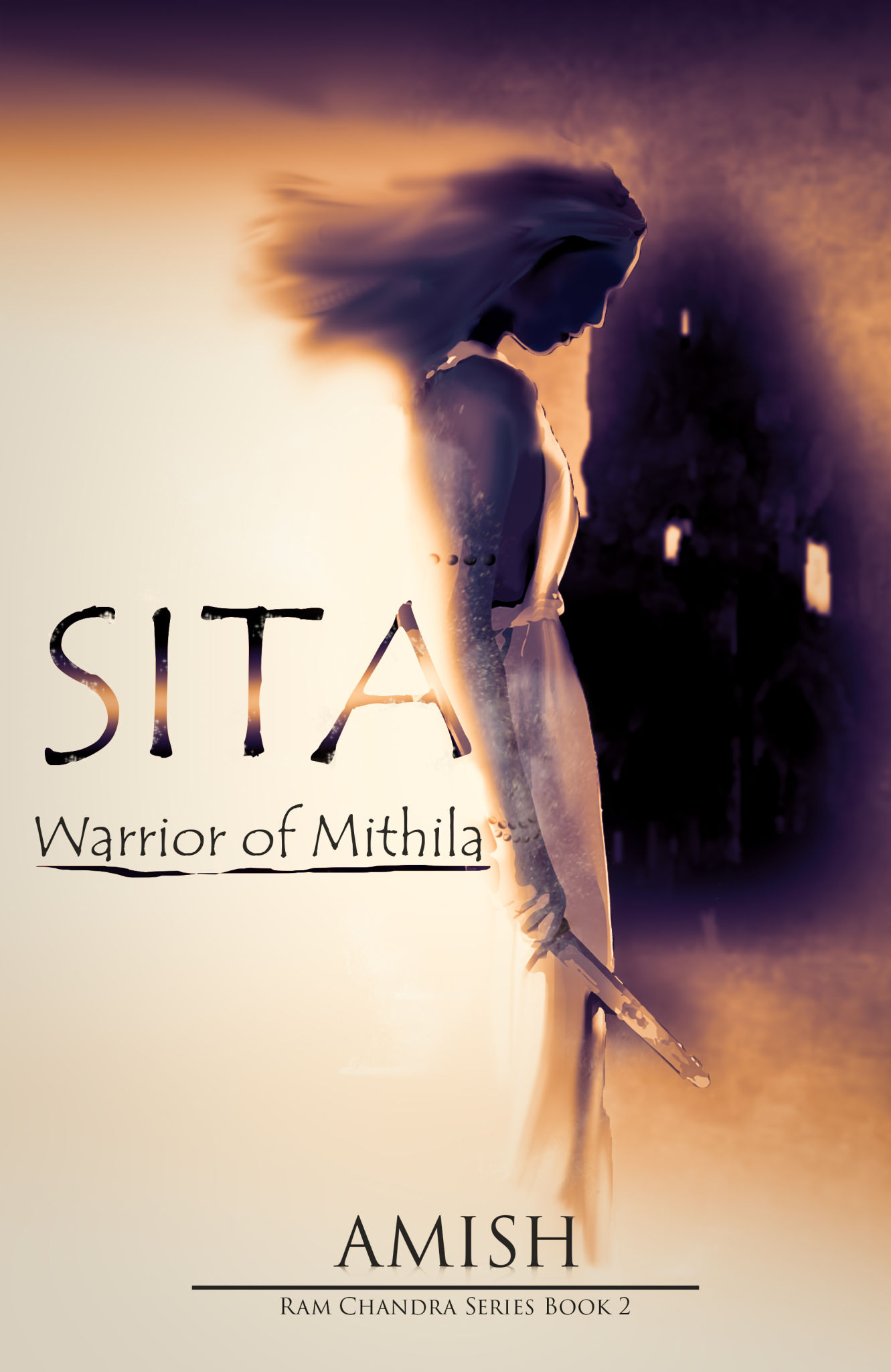 Book Cover Design Hd ~ Sita warrior of mithila cover design by mayur chavan