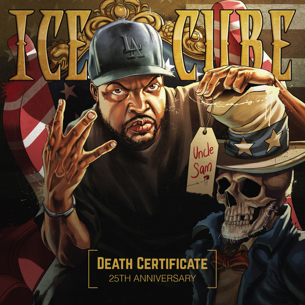 Re Design The Cover For Ice Cubes Death Certificate