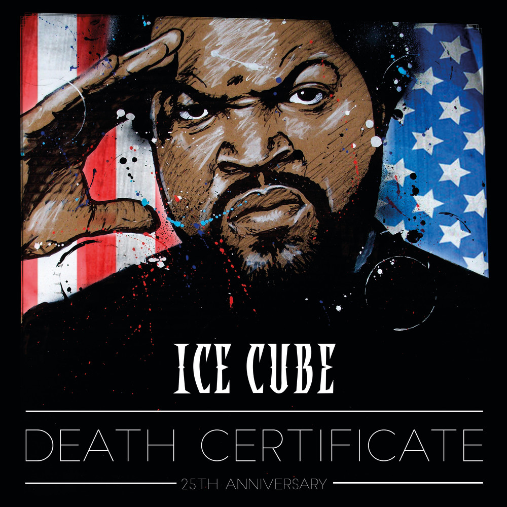 Ice Cube Cover Photo Pretty re-design the cover for ice cube's death certificate