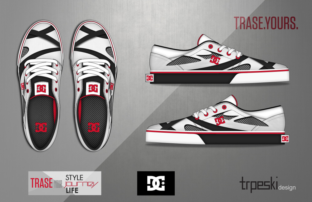 Design the Trase Shoe for DC Shoes 83c7b128ccc6f