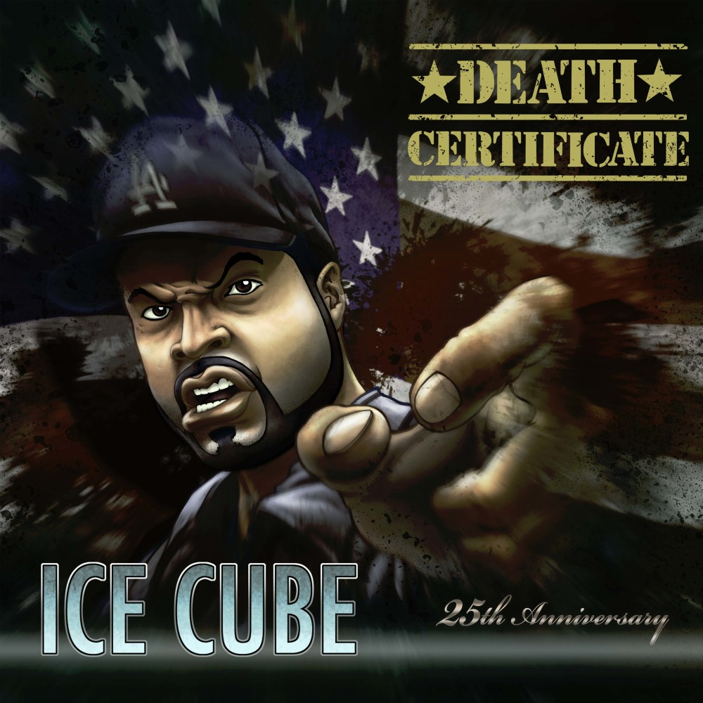 Re design the cover for ice cubes death certificate 1betcityfo Choice Image
