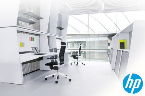 Design The Ultimate Office Space For HP And Microsoft Stunning Office Space Designers