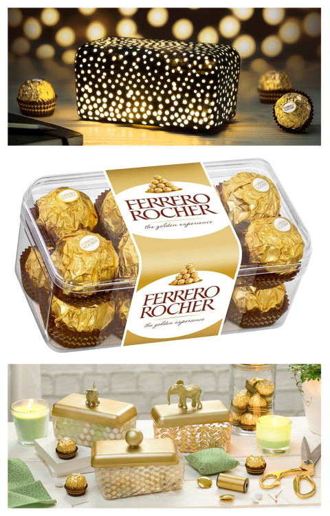 surprising Ferrero Rocher Box Diy Part - 12: Submissions should not include images of people or display other brands.  The Transparent box. Ferrero Rocher ...