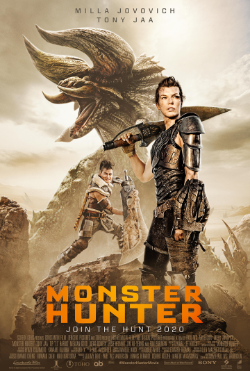 Create captivating artwork for the upcoming film, Monster Hunter