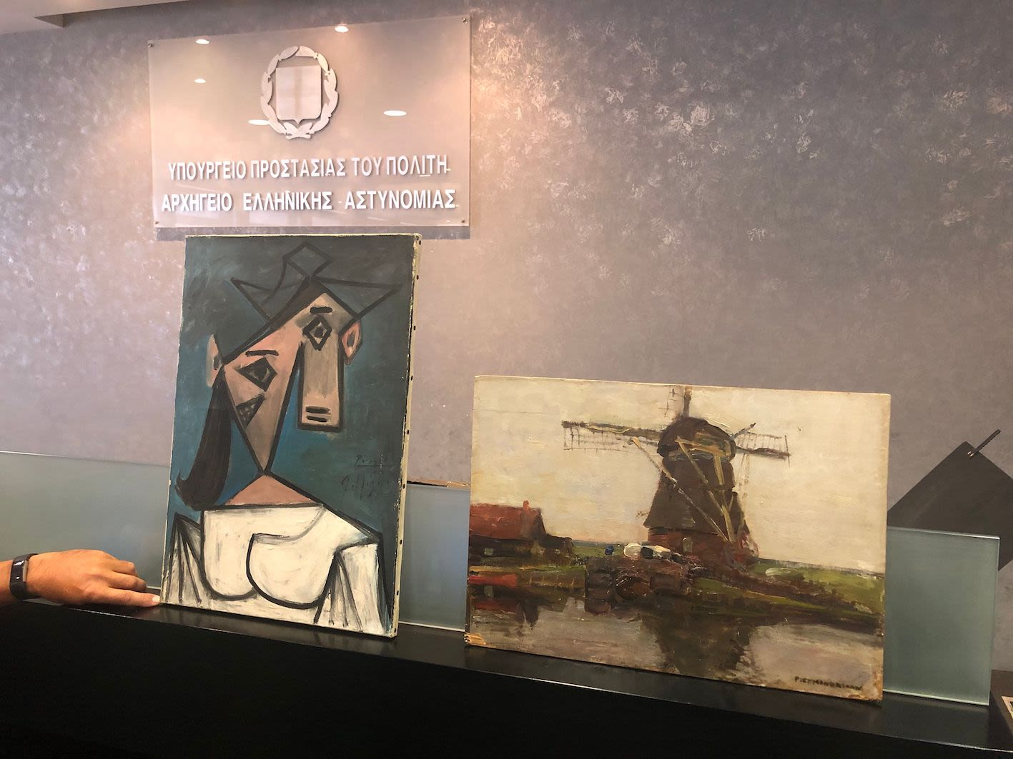 Stolen Picasso and Mondrian art works returned